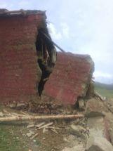 Retreathaus Dolma Lhakang Wasserschaden 1