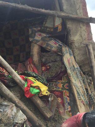 Retreathaus Dolma Lhakang Wasserschaden 11