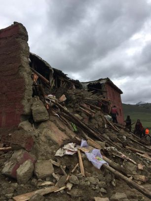 Retreathaus Dolma Lhakang Wasserschaden 13