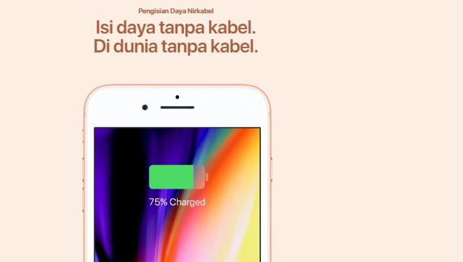 spesifikasi iphone 8 plus