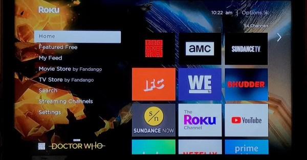 Select Streaming Channels