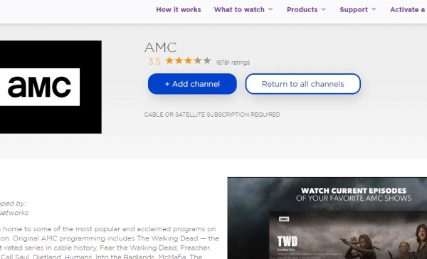 Tap on +Add Channel