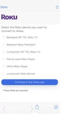 Alexa and Roku