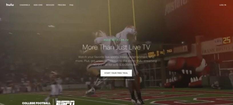 Hulu - SEC NETWORK ON ROKU
