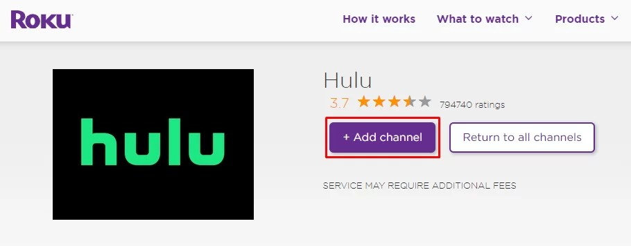 Hulu - SUPER BOWL ON ROKU