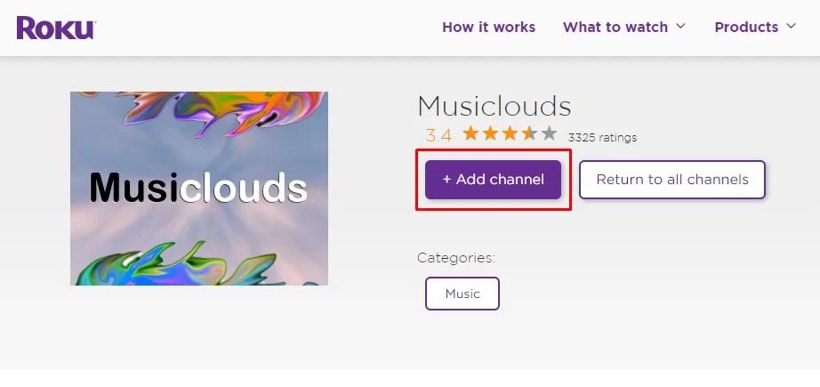 SoundCloud on Roku
