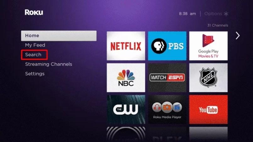 Search - Google play movies & TV on Roku