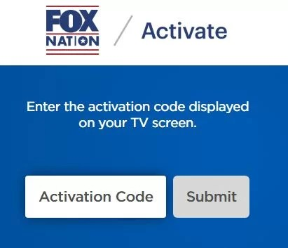 Activate Fox Nation on Roku