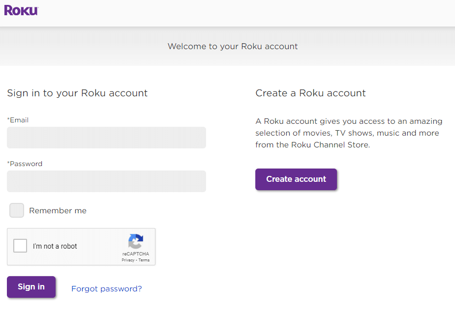 Sign in to your Roku account - Cancel Netflix on Roku
