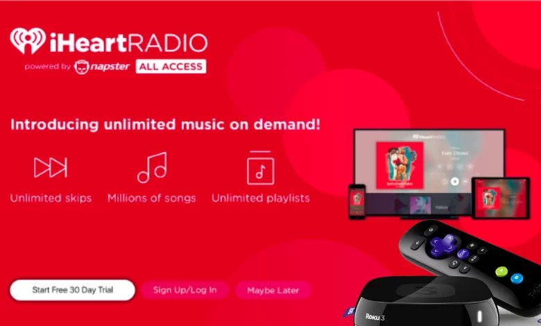 How to Install & Stream iHeartRadio on Roku