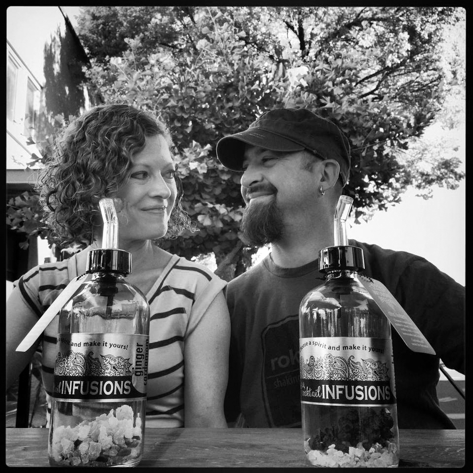 Our Story - rokz co-founders Terry and Charissa McKay