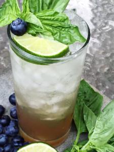 Blueberry Basil Mojito Ingredients