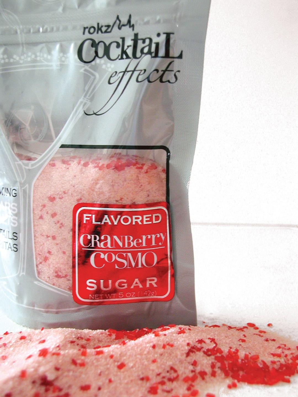 rokz Cranberry Cosmo Cocktail Sugar
