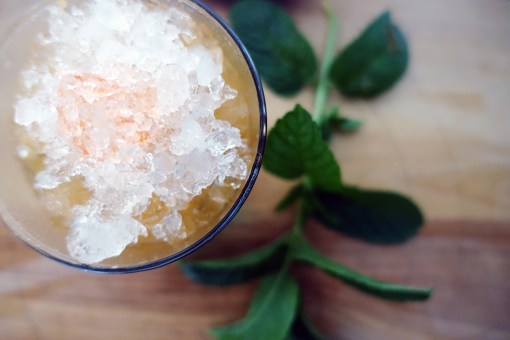 Ginger Apricot Julep