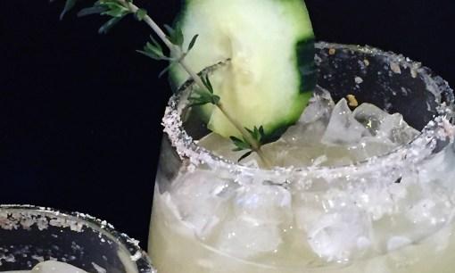 Cucumber Thyme Margarita