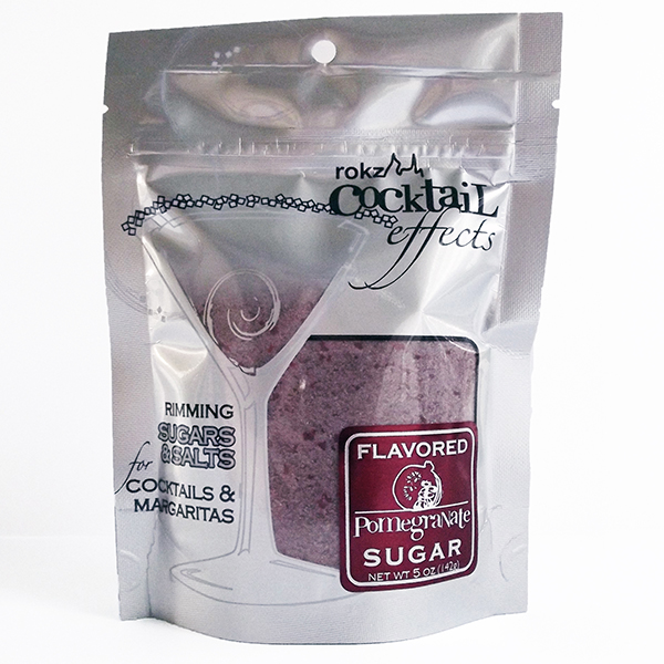 rokz pomegranate sugar