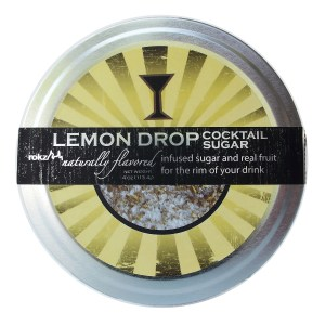 rokz lemon infused sugar