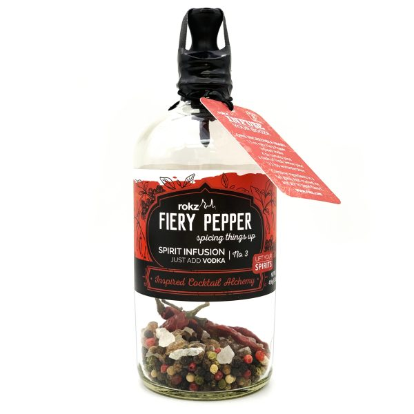 rokz Fiery Pepper Spirit Infusion Bottle