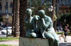Politeama Square Statues