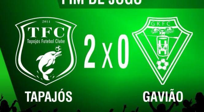 Tapajós derrota o Gavião e mantém 100% na segundinha