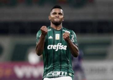Borja faz dois gols mas, Palmeiras só empata com Cruzeiro