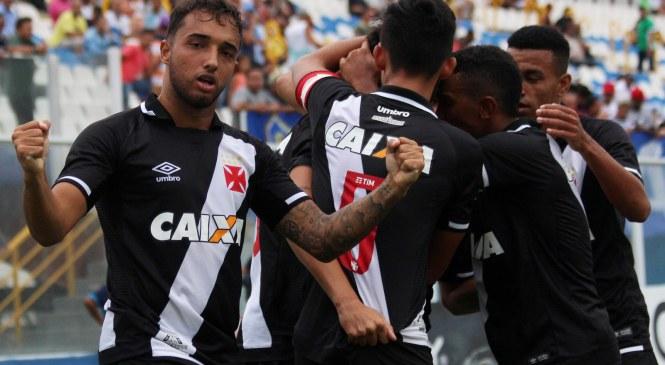 Vasco vence na Copinha e termina em primeiro do grupo