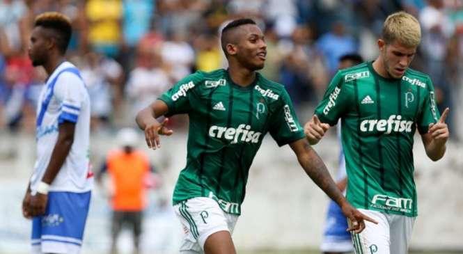 Palmeiras vence o Vasco e vai às quartas da Copa São Paulo