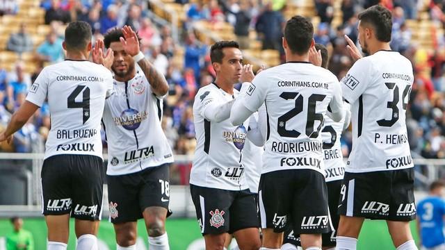 Corinthians perde de virada pelo torneio da Flórida