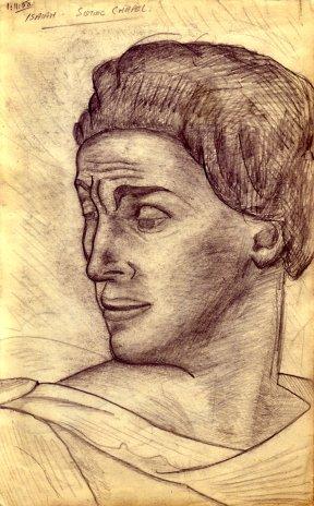 Detail - Michelangelo's Isaih