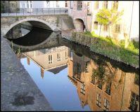 Canal Bridge in Bruges, Belgium