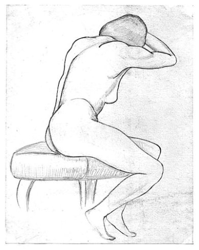 Life Drawing 1958a