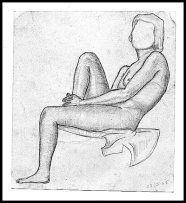 Life Drawing 1958d
