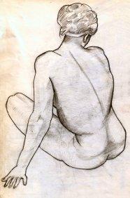 Life Drawing 1958e
