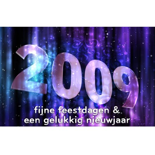 Nieuwjaarskaart 2009