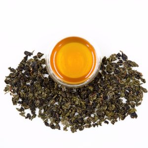 roleaf moderately baked tie guan yin oolong chinese tea with broth