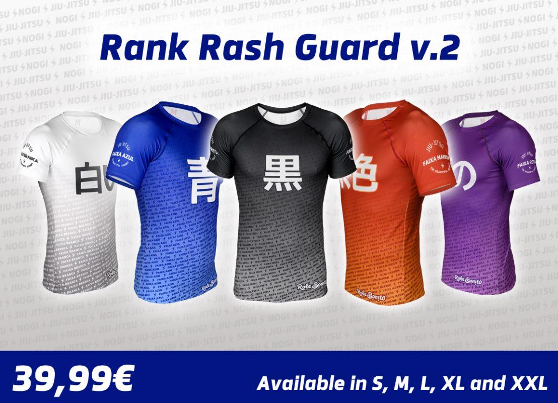 BJJ Ranked Rash Guards