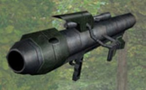 Golan Arms HH-15 rocket launcher
