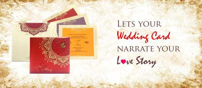Marriage Cards Designer Wedding Card