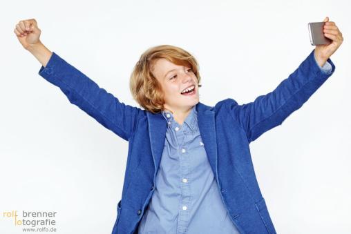 Kinder Fotoshooting für die Scaltel AG Waltenhofen