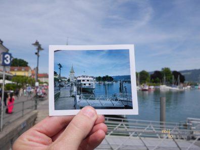 Erinnerung an eine Bootsfahrt auf dem Bodensee