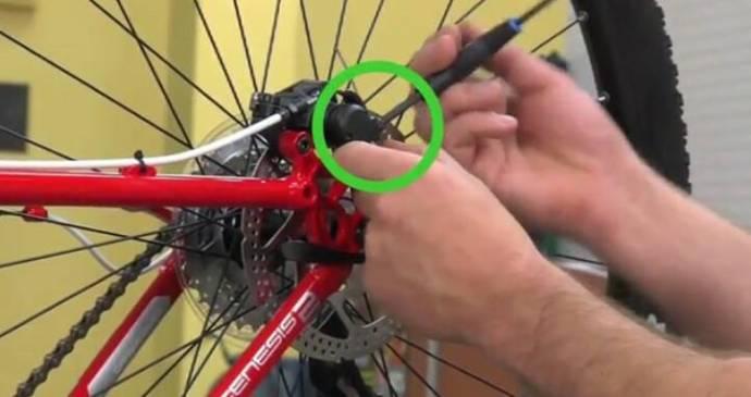 Как заменить тормозной тросик