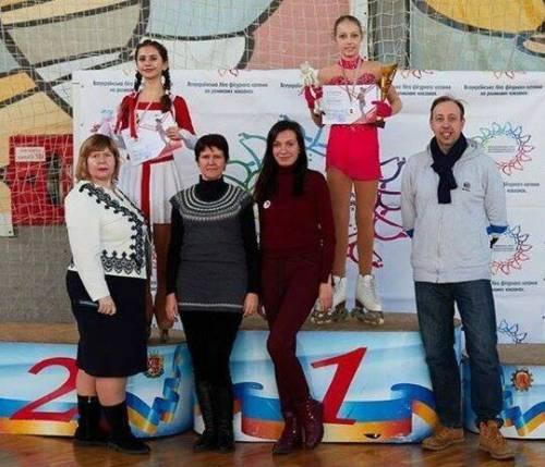 Первый чемпионат по фигурному катанию на роликах в Одессе