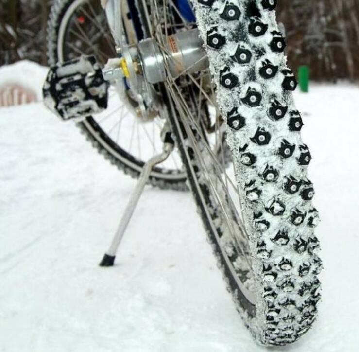Как ездить зимой на велосипеде - 5 простых правил