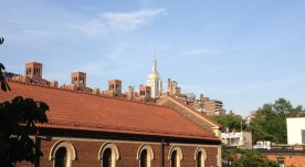 ESB from the High Line in Chelsea.