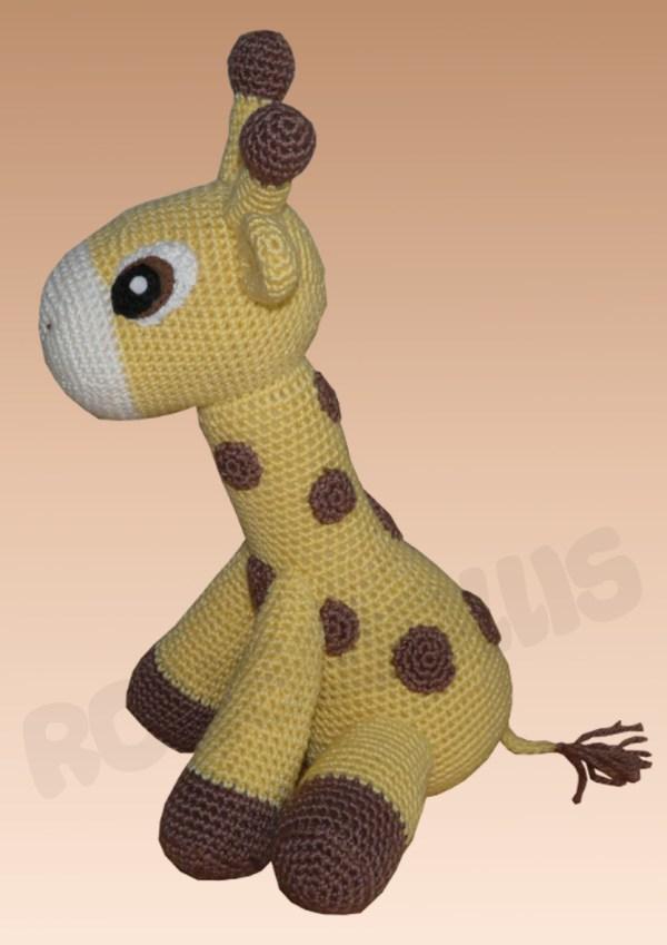 Amigurumis Amigurumi Giraffe Kara Amigurumi häkeln