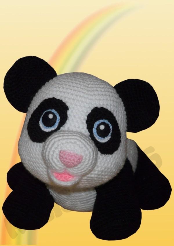Amigurumis Amigurumi Panda Shiro Amigurumi häkeln
