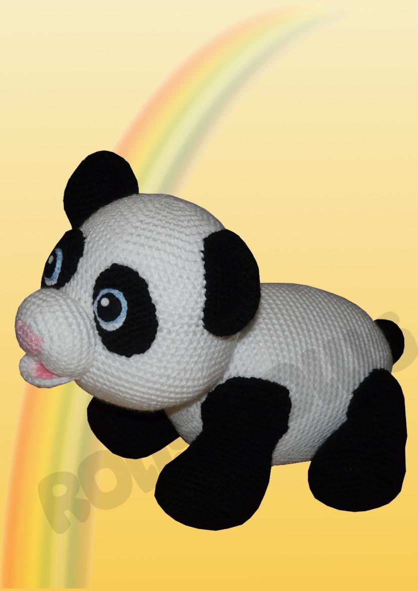 Panda Bär - Häkelanleitung | Häkeln anleitungen deutsch kostenlos ... | 1181x835