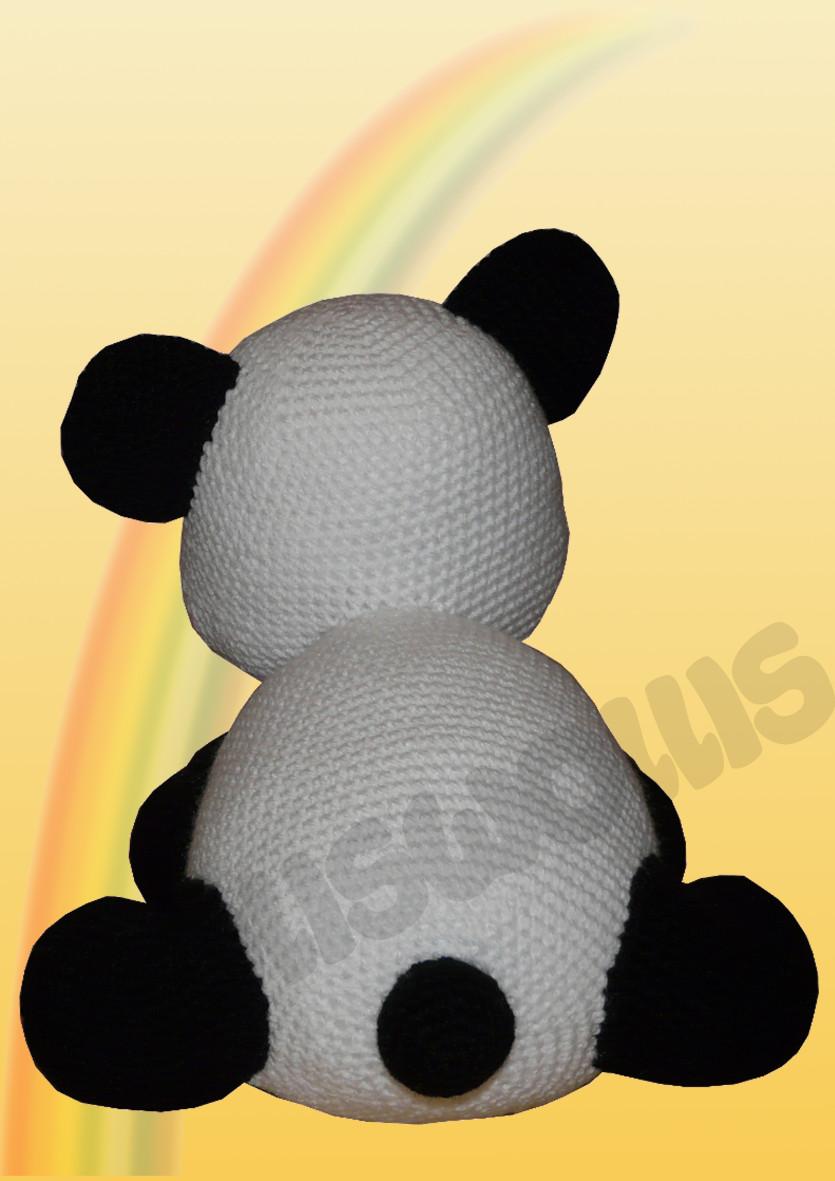 Pandabär - Häkelanleitung   Tiere häkeln anleitung kostenlos ...   1181x835