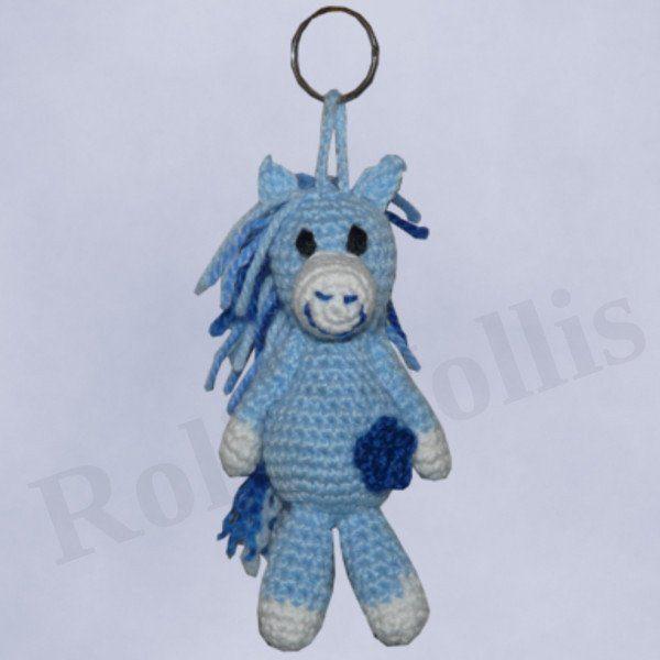Amigurumis Amigurumi Pferdchen Schlüsselanhänger Amigurumi häkeln