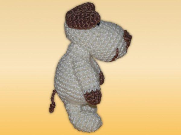 Kleiner Schlüsselanhänger Hund